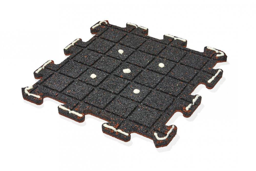 Pokládka dlažby puzzle